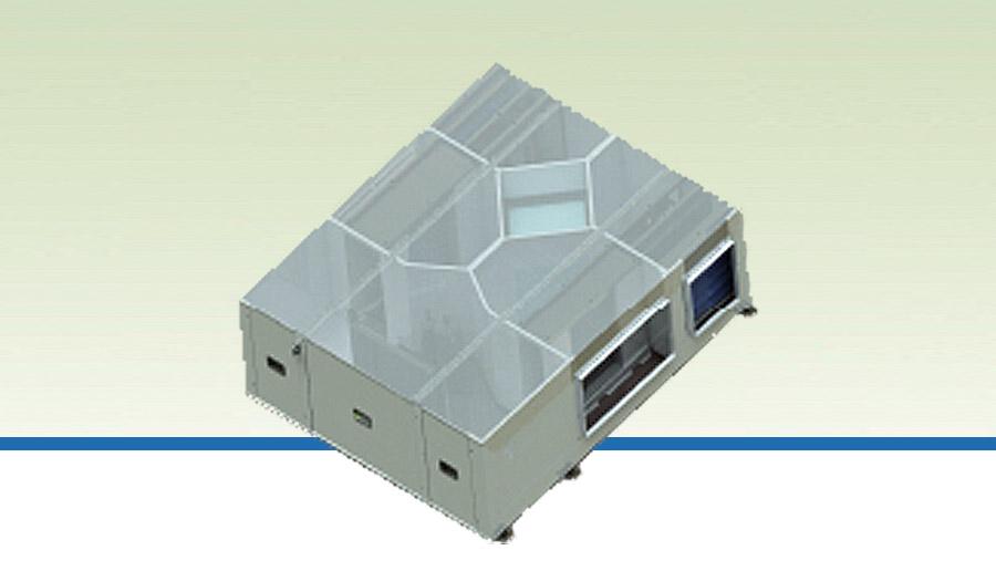 Tavan Tipi, Entegre Isı Pompalı Isı Geri Kazanım Cihazı 'SİGMA-DX', Klima Santralleri